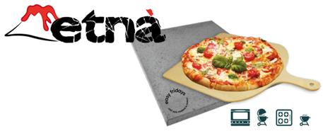 Pizza lavasten fra Etna